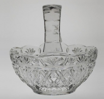 CRYSTAL BOHEMIA Giftware корзинка 17 см. 104587